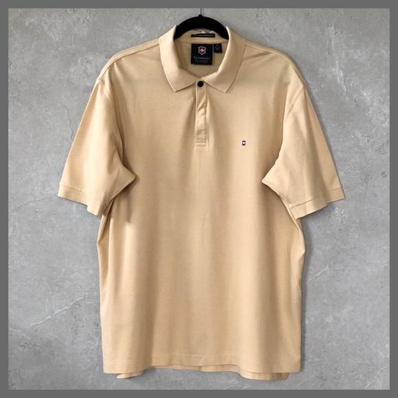 Victorinox Other - Victorinox Swiss Army Prima Cotton Golf Polo Shirt